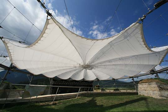 Retractable Structures Fabric Architect